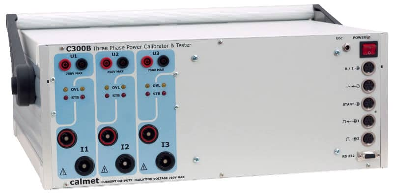 C300B-Three-Phase-Power-Calibrator-And-Tester.