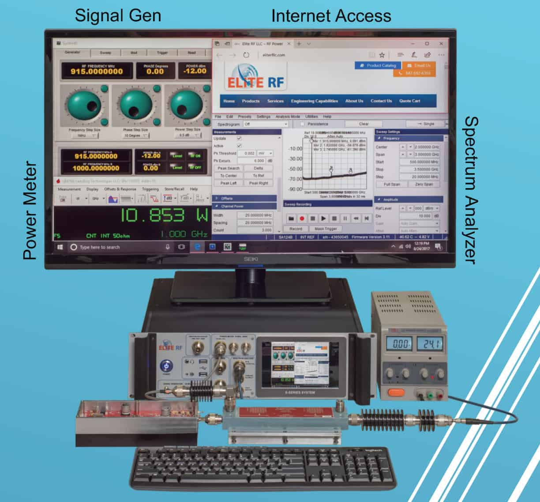 sistema di test RF multifunzione SPA441